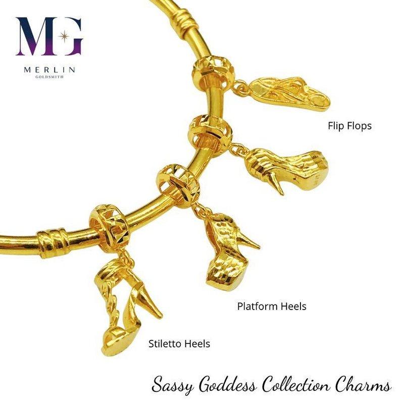 916 Gold Sassy Goddess Collection Charms