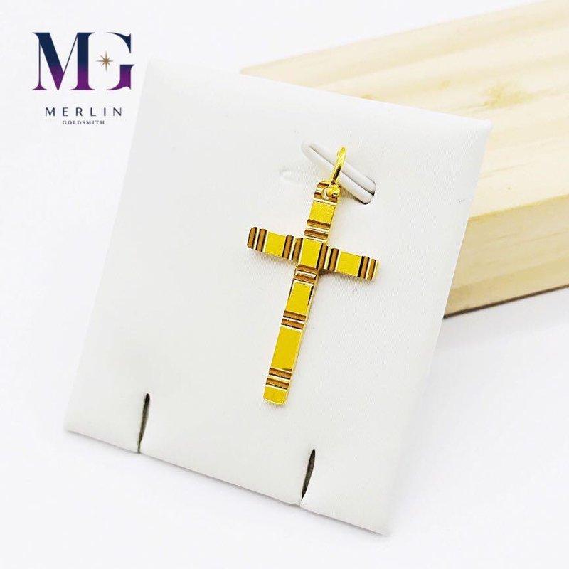 916 Gold Cross Pendant - Cutting
