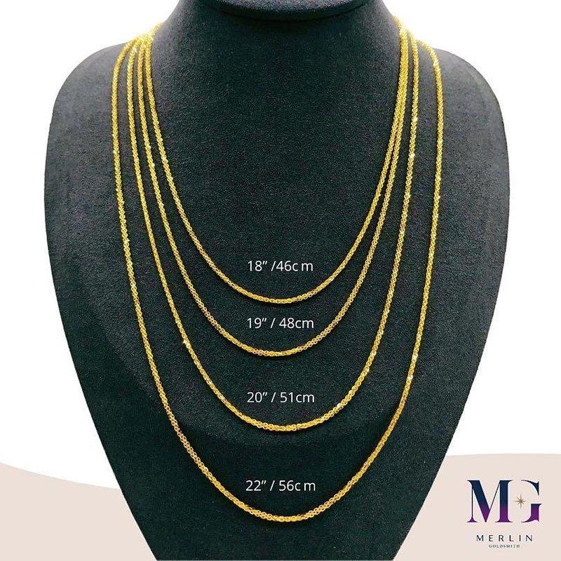 916 Gold Milan Chain