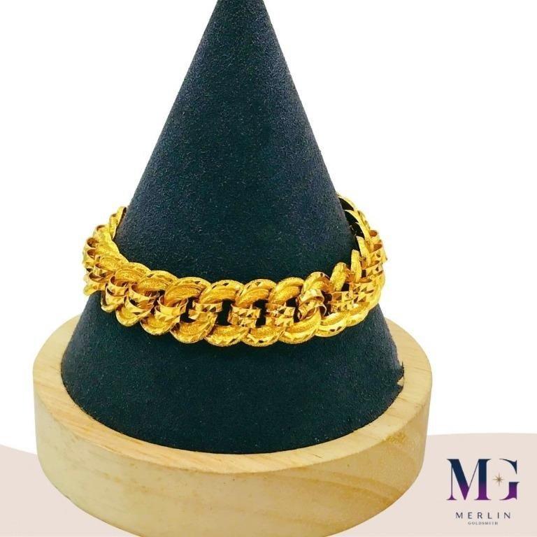 916 Gold 13mm Roller Coco Bracelet